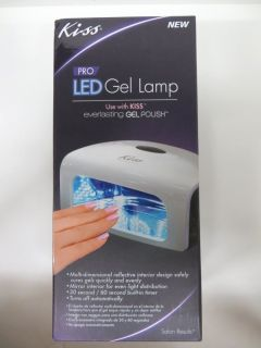 Kiss LED Pro Gel Lamp Everlasting Gel UV Polish Nail Manicure Dryer Gplamp