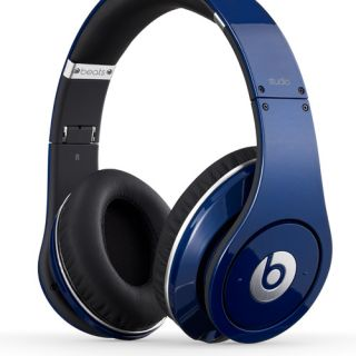 Beats Studio by Dr Dre Blue Original Headphones Cuffie Originali Garanziaitalia