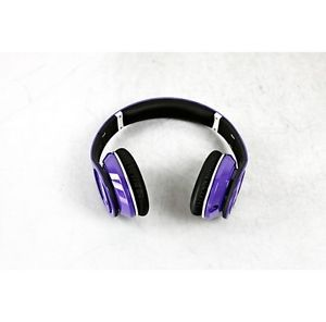 Monster Beats by Dr Dre Studio Headphones Purple