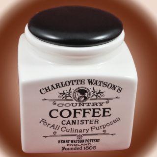 henry watson coffee