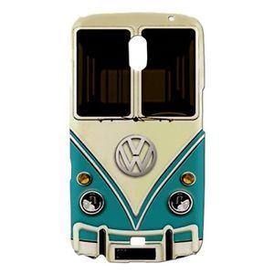 Funny Retro VW Turquoise camper Van Samsung Galaxy Nexus i9250 Phone Case Cover