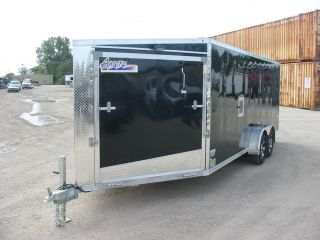 7824 New 2013 Amera Lite Enclosed Cargo Trailer 7x23' 7K GVW Snowmobile All Alum