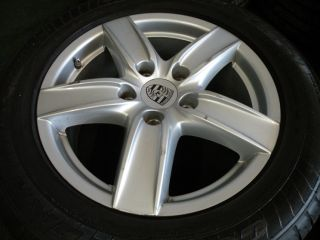 "18"" Factory Porsche Cayenne Wheels VW Touareg Audi Q7 Goodyear Tires 19"