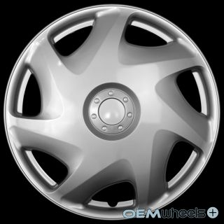 """4 New Silver 16"""" Hub Caps Fits Dodge SUV Car Truck Center Wheel Covers Set"""