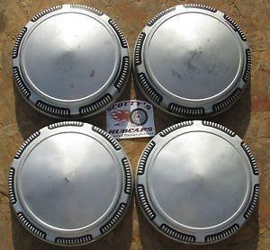 1968 79 Plymouth Roadrunner GTX Fury Satellite Dog Dish Hubcaps Set of 4