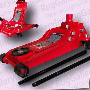 Torin Big Red 3TON Low Profile Car Truck Floor Jack Lift Hoist T83000 on Wheels