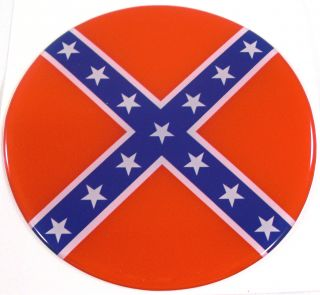 "Premium ""Confederate Flag"" Custom Gloss Decal for Car Truck Window Sticker"