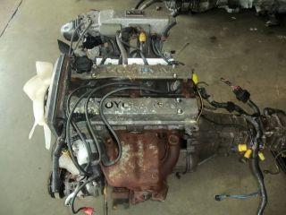 Toyota Corolla Levin JDM 4AGE 16 Valve Engine 4A GE Motor Wiring ECU Trans Used