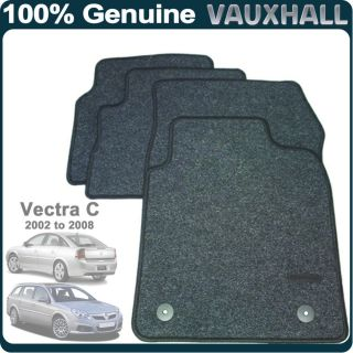 Genuine Vauxhall Opel Vectra C 02 08 Full Set Tailored Car Mats P N 93179516