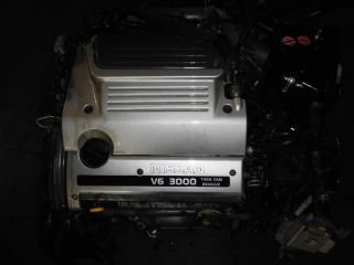 Nissan Maxima Infiniti I30 JDM VQ30DE 3 0L V6 Engine 95 99 Motor Wiring ECU VQ30