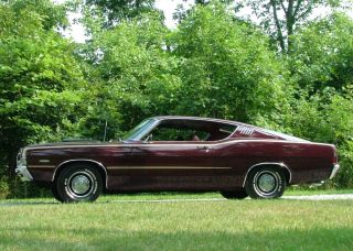 1970 1971 Ford Torino Fairlane Ranchero GT Fastback Coupe