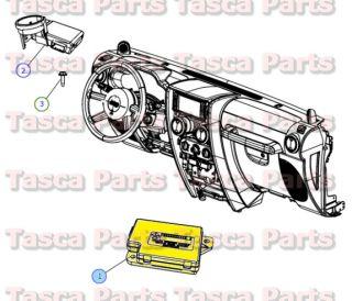Dashboard Compass Module 2006 2014 Dodge Chrysler Jeep Vehicles 4671918AG
