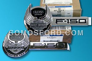 F150 Harley Davidson Emblem Brand New Ford F 150 Emblem 8L3Z 16720 C D