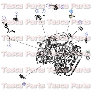 Mopar Air Intake Temperature Sensor 2011 2014 Dodge Chrysler Jeep 5149182AB