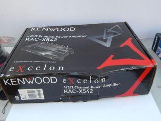 Kenwood KAC X542 4 Channel Power Amplifier 019048166906