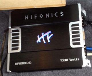 Hifonics HFI1000 1D 1000 Watt RMS Mono HFI Series Car Amplifier Amp HFI1000 1 613815567738