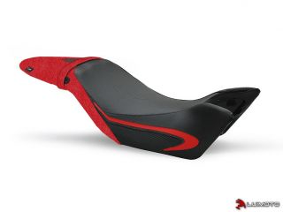 2011 2012 Team Triumph Speed Triple Motorcycle Seat Cover Set Custom