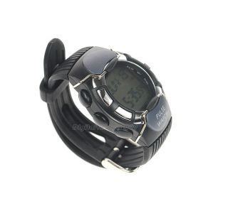 Heart Rate Monitor Sport Watch Pulse Calorie Meter Stopwatch Wrist Watch Alarm