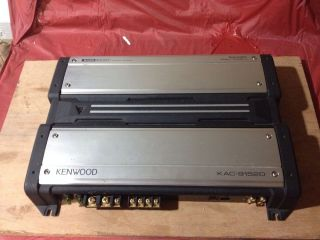 Kenwood KAC 9152D Car Power Amplifier Subwoofer Bass Boost