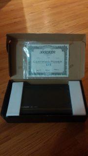 New Kicker 11DX4004 400 Watt RMS 4 Channel Car Amplifier Amp DX4004 DX400 4 713034054467