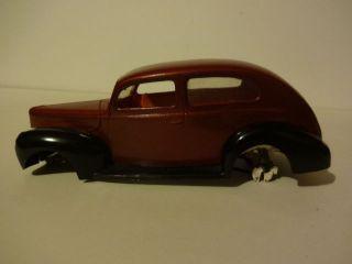 Junkyard Model 1940 Ford 2 Door Sedan 1 24 1 25 Hot Rat Rod