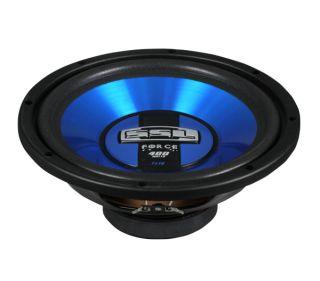 """2 Soundstorm SSL FS10 10"""" 800W Car Subwoofers Power Audio Subs Woofers SVC Blue"""