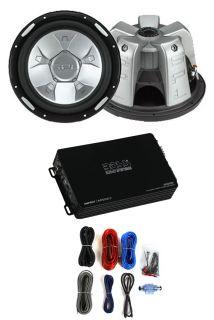 """2 SPL Audio SP2 12 12"""" 2800W Car Subwoofers Subs 2 Channel Amplifier Amp Kit"""