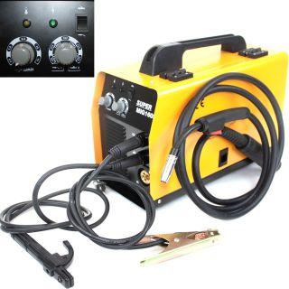 220V Dual No Gas MIG MMA Flux 160A Wire Feed MMA Arc Welder Welding Machine