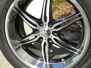 22 inch Kumho Tires with Alloy Deep Dish Rims
