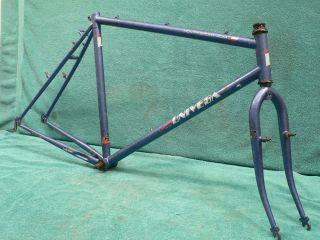 "Very Early ""Univega"" Triple Butted Mountain Bike Frame Forks Bottom Bracket"