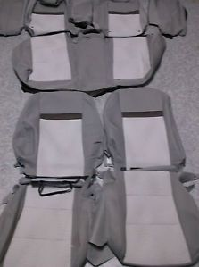 New Seat Covers Toyota Camry 2012 Gray Silver Genuine Toyota Parts