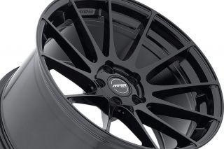 "19"" Ground Force GF06 GF6 Black Concave Rims Wheels Fits Infiniti G35 Coupe"