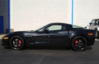 4 Factory GM Corvette Grand Sport Black Wheels Tires TPMS ZR1 Z06 Centennial