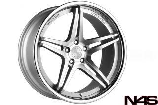 "20"" Benz CLS500 CLS550 CLS55 CLS63 Vertini Monaco Concave Silver Wheels Rims"