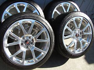 "4 New 2013 19"" Cadillac cts V Forged Wheels Tires Sedan Coupe cts V"