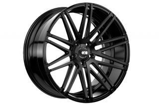 """20"""" Honda Accord Coupe XO Milan Concave Matte Black Staggered Wheels Rims"""