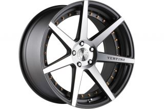 "20"" Vertini Dynasty Machined Concave Wheels Rims Fits Lexus GS300 GS400 GS430"