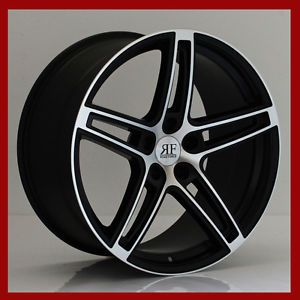 "20"" RF 5 Rims Wheels for Audi Mercedes BMW Lexus Staggered Concave New"