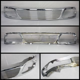 Ford F150 2003 Chrome Grille Grill