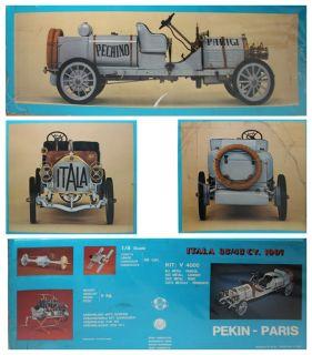 Details about Rare 1/8 Scale Arnold Pocher 1907 Pekin Paris ITALA Kit
