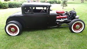 Model A Ford 1931 Coupe Hot Rod Rat Rod Cadillac Motor