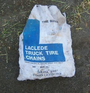 Laclede Light Truck Tire Chains 3229 DH