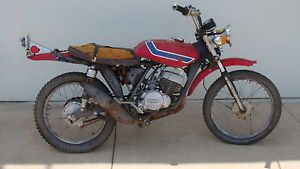 Suzuki TS125 1972 Vintage Bike for Restore or Parts