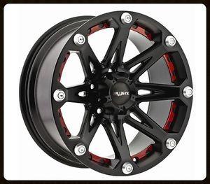 "18"" Ballistic Jester 6x5 5 36x13 50x18 BFG Mud Terrain KM2 Tires Wheels Rims"