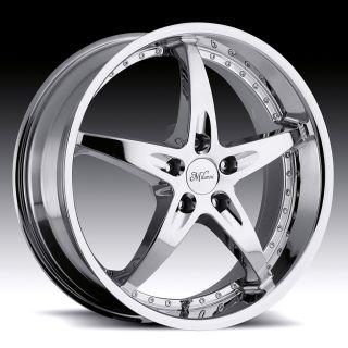 "20"" inch 5x4 5 Chrome Wheels Rims 5 Lug Mitsubishi Nissan Scion Toyota Mercury"
