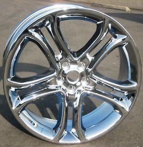 "Set of 4 New 22"" Factory Ford Edge Chrome Wheels Rims 2011 2013 3850"