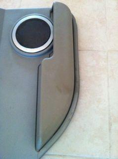 03 07 Hummer H2 Drivers Side Rear Door Panel Door Pad