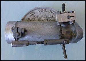 1960's Wal Philips Motorcycle Carburetor Injector Posa BSA Triumph Harley Vespa
