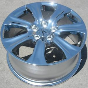 "Set of 4 New 18"" Factory Acura RL Chrome Wheels Rims TL MDX Odyssey 71783"