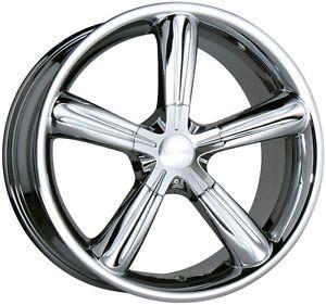"17"" Decorsa Stella Chrome Wheels Rims Nissan Maxima Altima Quest 5x114 3"